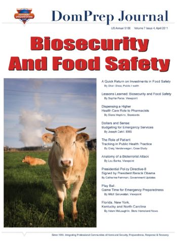 Biosecurity and Food Safety | DomPrep Journal