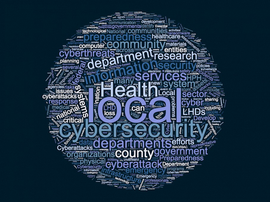 Improving Local Health Department Cybersecurity