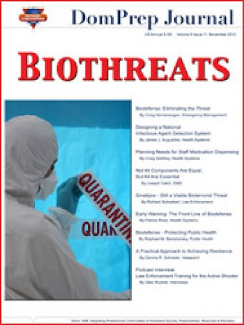BIOTHREATS | DomPrep Journal