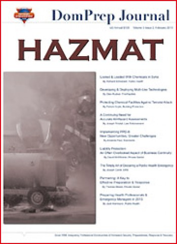 HAZMAT | DomPrep Journal