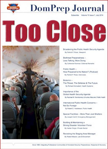 Too Close | DomPrep Journal