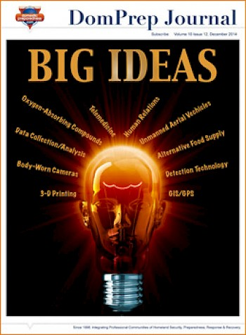 BIG IDEAS | DomPrep Journal