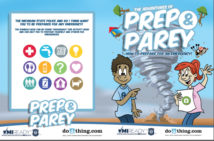 Do1Thing Preparedness Coloring Book