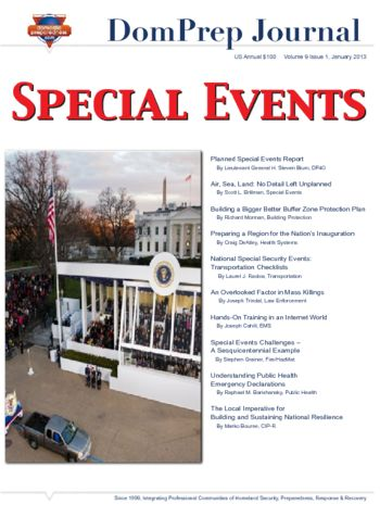 Special Events | DomPrep Journal